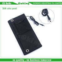 Foldable solar panel, charger for mobile phone and laptop thumbnail image