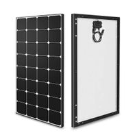 100w 12 volt mono solar panel high efficiency module off grid pv power for battery charging boat car thumbnail image