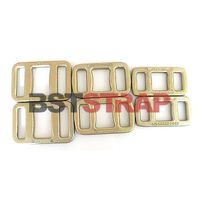 Metal Buckle Forged Strap Buckles For Woven Strapping 30mm Forged Webbing Belt Buckle thumbnail image