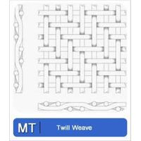 Twill weave wire cloth thumbnail image