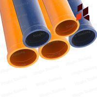 ST52 seamless pipe DN125,4.5mm,3mtr length
