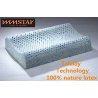 Talalay Technics Process 100% Nature Latex Foam Pillow Gelatin Curve Pillow