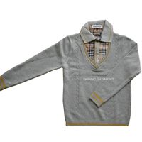 SHINVO fashion boy design knitting sweaters for kids