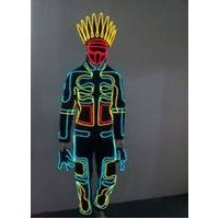 Cool LED Stage Wear Cosplay Novel Glowing Clothes Stylish Monks Clubwear LED Costume Clothes for Par