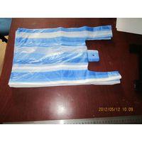 T-shirt plastic bag with logo printing
