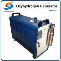 HHO-400 oxy hydrogen copper pipe welding