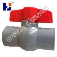 """HJ"" Irrigation Plastic UPVC Compact Ball Valve dn20 dn32"