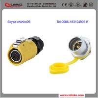 Plug and Socket Outlet IP65 3 Pin Socket Connector, IP65 Socket Waterproof