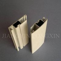 Aluminum profile for mosquito net with white powder coating
