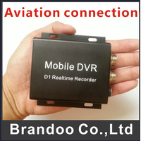 1 Channel Car DVR Recorder System with Remote Controller, High Quality Video, Aviation Connection