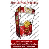 French fry chips making counter