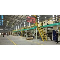 Strengthen Corrugated Cardboard Production Line | 2 Layer Flute Paper Laminating Together
