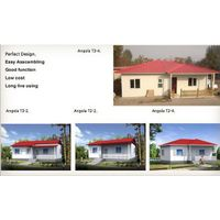 prefab house made in China , 2 bedroom prefabricated houses and home thumbnail image