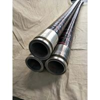 """5""""- 3M Concrete Pump End Hose for Schwing/ DN125 Rubber Hose with One Flange"""