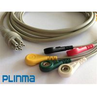 Colin One piece 5-lead ECG cable