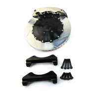 6 piston brake caliper AP 8607 carbon ceramic brake disc 355mm 350mm