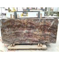 red color marble slabs - louis red