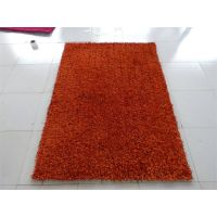 Chinese knot plain shaggy anti-slip decoration carpet and rug