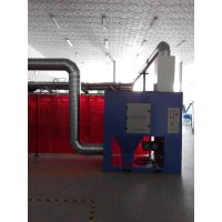 Industrial cartridge filter welding grinding dust collector with explosion proof system thumbnail image
