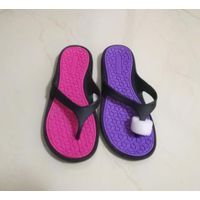 2018 cheap wholesale flip flops Simple design pvc woman slipper for sale