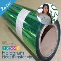 3000 series holographic heat transfer vinyl film
