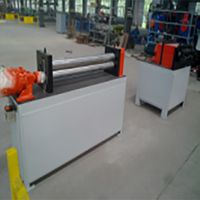 Automatic CNC Auto-Feed Three / 3 Roll Plate Bending Machine
