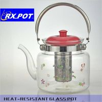 Professional Stylish Kettle Glass Teapot Stainless Steel Tea Kettle