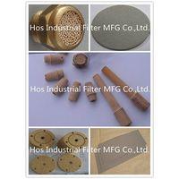 Stainless Steel/ Bronze/ Titanium/ Nickel/ Monel Powder Sintered Porous Filter/ Muffler thumbnail image