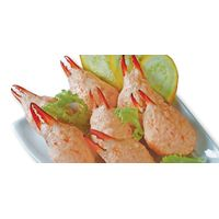 Shrimp Paste Cover On Swimming Crab Claw