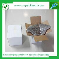bubble shield cooler banana fresh shipping packaging insulated box