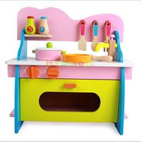Wooden color Kitchen Toy educational