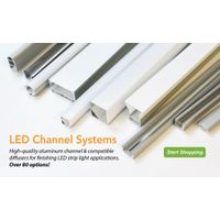 LED Aluminum Profile Corner Application On Wall Corner and Under the Stair Light
