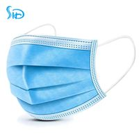 Disposable mask Disposable three-layer protective masks are not for medical use