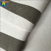 black and white microfiber non-woven base with high physical properties thumbnail image