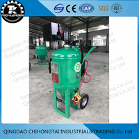 Wet Sand Blasting Machine Uses Abrasive Glass db225