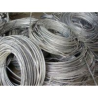 99.7% Purity Silver White Aluminum Wire Scrap