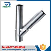 Stainless Steel Pipe fitting Y type Tee thumbnail image