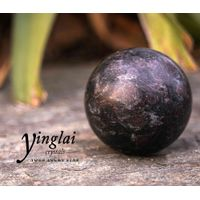 "Yinglai 2.2"" Top Quality Astrophyllite Sphere Natural Crystal Sphere, Meditation Crystals thumbnail image"