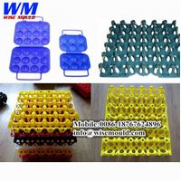 High quality-Custom plastic egg tray mould/plastic egg tray mold in taizhou china