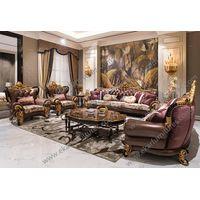 Antique Classic Latest Designs 2017 Furniture Living Room Leather Sofa Set