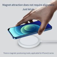 Wholesale 15W Fast MagSafe Wireless Charger for iPhone 12 by PhoneMust thumbnail image