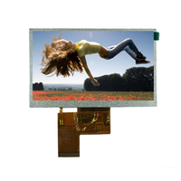 5inch TFT LCD 480x272 tft touch display