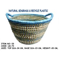 Grass & Recycle Plastic Basket