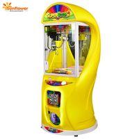 New 2018 Super Box2 Mini Toy Crane Claw Machine Coin Operated Toy Vending Machine
