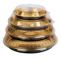 Disposable Round Cake Container Cake Box Food contianer