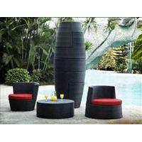 2012 hot seller Outdoor furniture Leisure Rattan furniture sets rattan sofa sets