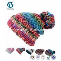 New Crochet rasta pom beanie tam hat Jamaica colorful rasta hat knitting