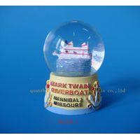 snow globe,resin snow globe,water globe,resinic gifts, snow ball thumbnail image