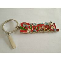 Bake  lacquer  Metal key chain