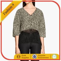 Women Fringed Blouse